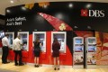 People access DBS cash withdrawal machines in Singapore. Photo: Reuters
