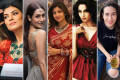 Five fit and fabulous Bollwood actresses in their forties: From left, Sushmita Sen, Malaika Arora, Shilpa Shetty, Bipasha Basu, Karisma Kapoor. Photos: @sushmitasen47; @malaikaaroraofficial; @theshilpashetty; @bipashabasu; @therealkarismakapoor/Instagram