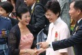 Chief Executive Carrie Lam was herself awarded the Grand Bauhinia Medal in 2016, when she was chief secretary. Photo: Edward Wong