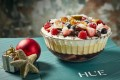 Hue's Christmas dessert is a traditional Aussie trifle. Photo: Handout