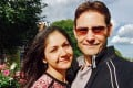 Vina Nadjibulla with husband Canadian Michael Kovrig, who was arrested in China two years ago. Photo: AFP