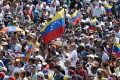 Hundreds of thousands of Venezuelans took to the streets for most of last year in a failed attempt to remove Nicolas Maduro from the presidency. Photo: AFP