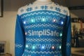 SimpliSafe's Social Distancing Sweater promotes a safer Christmas.