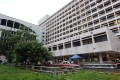 The Covid-19 patient fled from Queen Elizabeth Hospital in Yau Ma Tei. Photo: SCMP