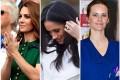 Kate Middleton, Meghan Markle and Princess Sofia. Photos: @whitecrownroyalchic; @fiorese_jewelry; @sofia_princesssweden/Instagram