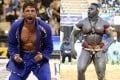 Marcus 'Buchecha' Almeida (left) and Oumar 'Reug Reug' Kane. Photo: Twitter