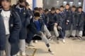 """Although young people in China think long johns are """"old-fashioned"""", a teacher's video for her students on wearing them properly in the winter has gone viral. Photo: Sohu"""