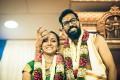 Nivedita Shankar and Vivek Seetharaman at their trimmed-down wedding in Singapore. Photo: Nivedita Shankar