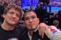 Ben Askren with Anthony Pettis cageside. Photo: Instagram