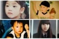 Clockwise from top left: Rose from Blackpink, Chungha, Nayeon from Twice and Jin from BTS as children. Photos: @ROSEVotingTeam; @Byulharang_209; @FrenchNayeon/Twitter, @bangtanworldborahae/ Instagram