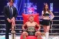 Kyoji Horiguchi celebrates his first-round TKO win over Kai Asakura at Rizin 26. Photos: Rizin FF
