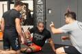 Marcus 'Buchecha' Almeida and Daniel Cormier training at AKA. Photo: Brian Vega/@iamthebay