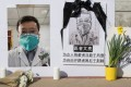 Li Wenliang's death prompted a public outcry. Photo: AFP