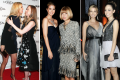 Ivanka Trump and her once close friends: Chelsea Clinton, Anna Wintour and Emmy Rossum. Photos: Getty Images