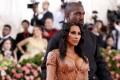 Kim Kardashian and Kanye West. File photo: Reuters