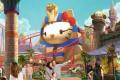 A rendering of Keyestone Group's planned Hello Kitty theme park in Sanya, Hainan. Photo: Handout