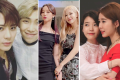K-pop besties: Jackson and RM, Hyeri and Rosé, IU and Yoo In-na. Photos: @jacksonwang852g7; @hyeri_0609/Instagram, @iuxdean/Twitter