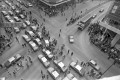 Taxi drivers on strike in January 1984. Photo: SCMP