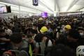 Hong Kong's airport was crippled by protesters in 2019. Photo: Sam Tsang