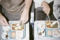 Airlines are tackling the problem of food waste on flights by asking travellers to opt out of meals before they fly and by using artificial intelligence to analyse and predict in-flight food consumption. Photo: Getty Images
