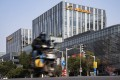 Alibaba's offices in Shanghai. The e-commerce giant, along with rival Tencent, leads Chinese companies on the inaugural Hurun Global 500 list. Photo: Bloomberg