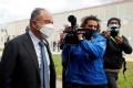 Prosecutor Nicola Gratteri arrives at the tribunal for the trial of 355 suspected members of the 'Ndrangheta mafia. Photo: Reuters