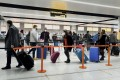 All US citizens and foreign travellers will be required to get a Covid-19 test within three days of their flight to the US, and to provide written proof of the test result to the airline. Photo: AP