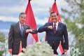 China's Wang Yi meets Indonesia's Luhut Pandjaitan. Photo: Handout
