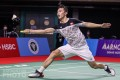 Angus Ng plays his best game of the week to reach the semi-finals at the Thailand Open. Photo: Badmintonphoto
