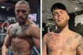 UFC lightweight fighter Conor McGregor says YouTuber and amateur boxer Jake Paul has a right to compete in the sport. Photo: Instagram/Conor McGregor, Jake Paul