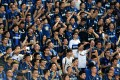 Supporters of Inter Milan react during the International Champions Cup football match between AC Milan and Inter Milan in Shenzhen in 2015. Photo: AFP