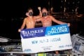 Kai Weidmer (left) and Mark Slats set the pairs world record for rowing across the Atlantic. Photo: Ben Duffy