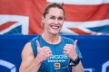 Samantha Briggs is one of the CrossFit stars who have signed their home gyms on to help Battle Cancer. Photo: Dubai CrossFit Championship