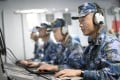 Chinese naval personnel in the South China Sea are learning English to avoid misunderstandings in encounters with foreign vessels. Photo: Handout