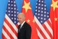Business leaders and economists are hoping for a less antagonistic approach towards China when Joe Biden takes office. Photo: AFP