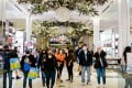 Shoppers walk through Macy's flagship Herald Square store in New York on the most recent Black Friday, on November 27. There is every possibility that, as America emerges from the pandemic, US consumers will continue their love affair with Chinese goods. Photo: Bloomberg