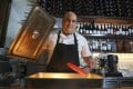 Chef Asher Goldstein at Francis in Wan Chai. Photo: SCMP / Dickson Lee