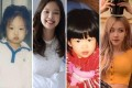 Blackpink's Jennie and Rosé, then and now. Photos: @MaderaReid; @kuzvis; @cyanblink/Twitter