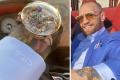 Conor McGregor and his new million dollar watch in Abu Dhabi. Photos: @thenotoriousmma/Instagram