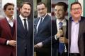 Openly gay international politicians, from left: Ana Brnabić, Xavier Bettel, Jens Spahn, Pete Buttigieg, Grant Robertson. Photo: @anabrnabic, @xavier.bettel, @jensspahn, @pete.buttigieg, @grantrobertsonmp/Instagram