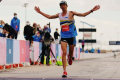 Jim Walmsley missed the 100km world record by 12 seconds. Photo: Hoka One One Instagram