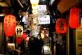 A Japanese izakaya pub alley in Tokyo. Photo: Reuters