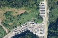 The Chinese village comprises about 100 houses, satellite images show. Photo: Twitter