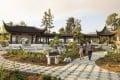 A courtyard that highlights the Chinese art of penjing – similar to Japanese bonsai – at Liu Fang Yuan in San Marino, California. Photo: The Huntington Library, Art Museum and Botanical Gardens.