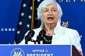 Former US Federal Reserve chairwoman Janet Yellen speaks during a Cabinet announcement event at The Queen theatre in Delaware in December. Photo: AFP