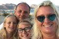 Amanda Schofield on a family holiday in Lanzarote in 2018. She was diagnosed with brain cancer in 2020.