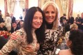 Vivienne Tam (left) has dressed US first lady Jill Biden on a number of occasions, including a state dinner at the White House, and a State Department lunch (pictured), honouring Chinese President Xi Jinping. Photo: Vivienne Tam