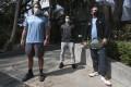 Hong Kong tennis coaches Jason Sankey, Gary Yam and Andrew Town said they are feeling the strain. Photo: Jonathan Wong