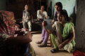 Khabar Lahariya journalists Meera (right) and Suneeta (second right) in a still from Writing with Fire. The film about a women-only digital news agency in India has been selected for the Sundance Film Festival's World Cinema Documentary Competition.