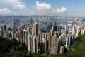 Hong Kong's economy is expected to post a record decline for 2020. Photo: AFP